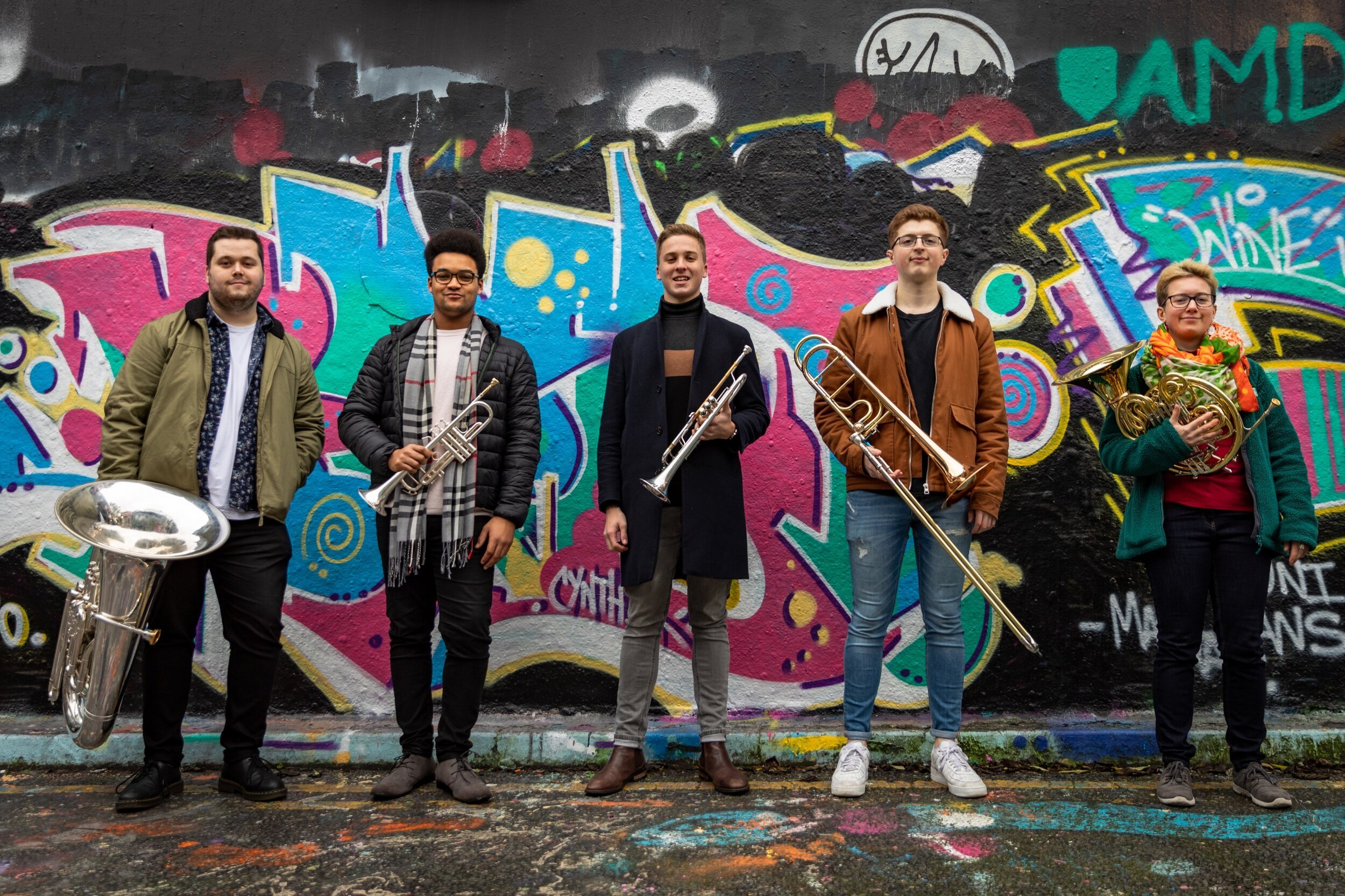 Connaught Brass Quintet · Sunday 13 December 2020